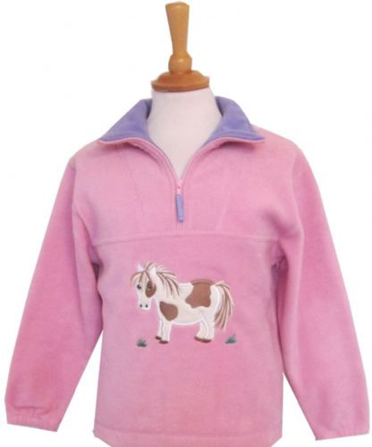 British Country Collection Cookie Pony Fleece - Large Only